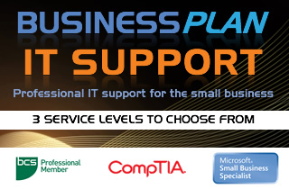Professional IT support for the small business